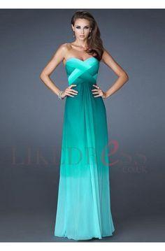 Beautiful sea blue bridesmaid dress