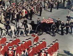 John F Kennedy funeral procession