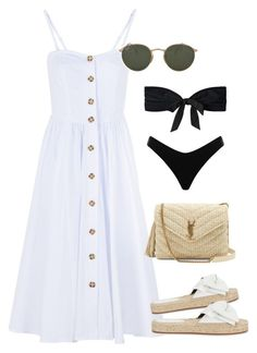 """Unbenannt #681"" by vanileeeeeeen ❤ liked on Polyvore featuring Free People, Rebecca Minkoff, Ray-Ban, Yves Saint Laurent, 3.1 Phillip Lim and Zimmermann"