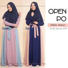 Bismillah OPEN PO edisi JANUARI PO dibuka: 16 - 26 JANUARI 2017 ETA Ready 13 FEBRUARI 2017 . Karena ini OPEN PO jadi bisa pesan untuk seragaman dan rame rame ;) Yuk PESAN SEKARANG! . Gamis Amima Zetta Dress - baju muslim wanita baju muslimah Untukmu yg cantik syari dan trendy . . Size: S ---> LD 94 | PJG 137 M ---> LD 100 | PJG 140 L ---> LD 106 | PJG 140 . . Detail : - Material bahan : CREPE POLOS HQ nyaman digunakan seharian material ringan dan flowy cocok untuk travelling karena…