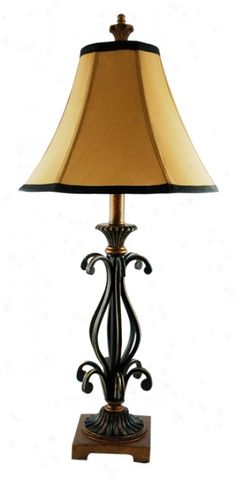 Battery Powered Table Lamps | Urn Pour Zen Battery Operated Tabletop  Fountain (G2586) @