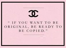 I think you have already figured this one out for yourself & Madam Chanel agrees,