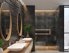 The Latest Bathroom Tech Innovations You Won& Want to Live Without Spa Inspired Bathroom, Spa Like Bathroom, Small Bathroom, Bathroom Black, Bathroom Showers, Washroom, Bathroom Cabinets, Bathroom Design Inspiration, Bad Inspiration