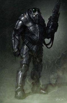 Man Of Steel Concept Art