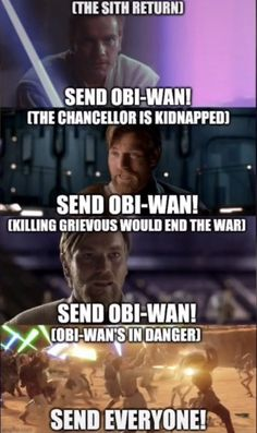 Star Wars Jokes, Star Wars Facts, Star Wars Comics, Star Wars Rebels, Star Wars Clone Wars, Images Star Wars, Funny Star Wars Pictures, Nave Star Wars, Prequel Memes