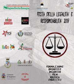 Ferrara: Festa della Legalità e Responsabilità gli appuntamenti e le iniziative delledizione 2017