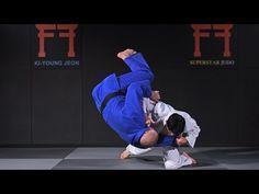 Korean Judo - Drop knee Tai otoshi - YouTube