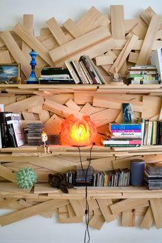 DIY Möbel: Patchwork Regal
