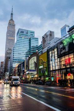 Fashion Avenue, New York City
