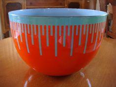 Richard Anuszkiewicz Glazed Enamel Bowl Limited by Kleymannscloset