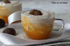 Mousse, Ricotta, Little Cakes, Dessert Recipes, Desserts, Finger Foods, Hamburger, Cheesecake, Good Food