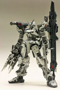 "GUNDAM GUY: MG 1/100 Gundam Astray Red Frame ""Full Weapon"" - Customized Build [Updated 2/15/15]:"