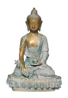 Bronze Buddha Figur der Heilung