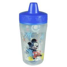 MICKEY MOUSE Insulated Spill-Proof Sippy Cup 2-Pack from The First Years