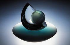 Coriolis - Large Glass Sculpture - © Anthony Scala Glass