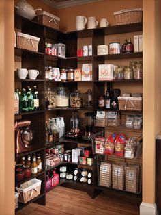 Shelving ideas for the pantry