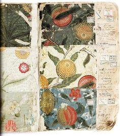 William Morris textile design sketchbook by Hercio Dias Textile Patterns, Textile Art, Print Patterns, Art Nouveau, Grafik Art, William Morris Art, Get Thin, Artist Sketchbook, Guache