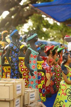 Clay crafts.Olinda - Pernambuco/Brasil