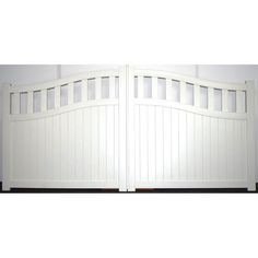 Gate in Aluminium with Mixed infill and Bell curved top-Maintenance free-Double swing Gate · Barriers Direct Double Swing, Double Gate, Driveway Entrance, Entrance Gates, Aluminium Gates, Security Gates, Curve Tops, Western Theme