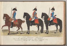 Leib-Dragoner Regiment - 1784