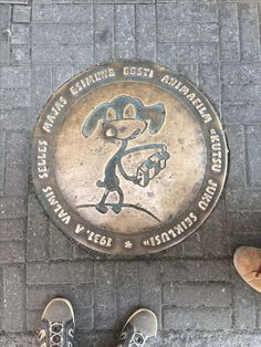 The quest for new and unusual manhole covers to add to the collection continues, this one in Tallinn Estonia