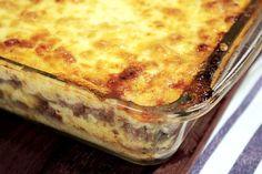 DigaMaria | Polenta à bolonhesa com queijo gratinado