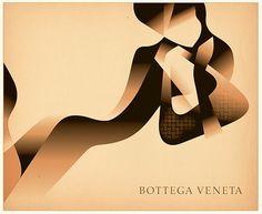 Bottega Veneta Christmas Cards by Mads Berg