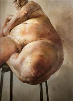 Jenny Saville, Prop [oil on canvas, x - Saatchi Gallery Figure Painting, Figure Drawing, Painting & Drawing, Painting Abstract, Lucian Freud, Fat Art, Saatchi Gallery, A Level Art, Life Drawing