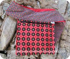 Para mi peque con amor: Riñonera con bolsillo sencillo. Tutorial y patrones. ¡Empezamos!