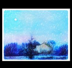 Blue Ice by Tracey Alsop on Etsy