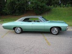 1968 Chevrolet Impala Sport Sedan #chevroletimpala1968