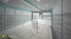 Pharmacy Design at Korinthos, Greece