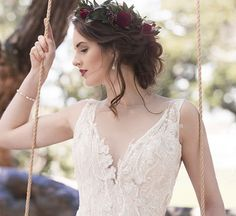 Emily gown by Vinka Design! Dreamy layers of silk chiffon with low back Bridal Gowns, Wedding Gowns, Silk Chiffon, Designer Wedding Dresses, Bridal Collection, Wedding Hairstyles, Beautiful, Auckland, Editorial