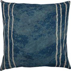 RM Putetrekk cm blå m/ hvite striper Outdoor Blanket, Palms
