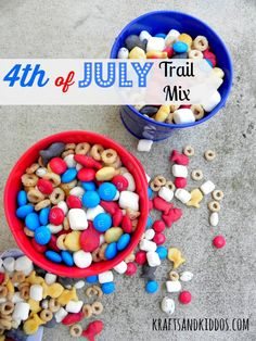 4th of July Trail Mix