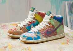 quality design 8cdc6 af5d3 NIKE SB ZOOM DUNK HIGH PREM WHAT THE THOMAS CAMPBELL UK 10 5 US 11 5 EU 45 5