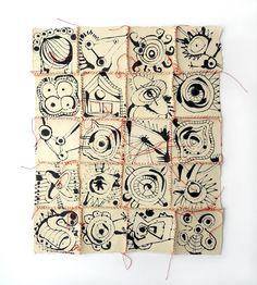 paper quilt by Suzanna Scott