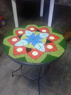 Mosaic Ideas, Garden, Table, Furniture, Home Decor, Craft, Mosaics, Garten, Decoration Home