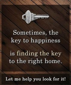 Save Max Real Estate - Sometimes the Key to Happiness, is finding the Key to the. - Save Max Real Estate – Sometimes the Key to Happiness, is finding the Key to the Let - Real Estate Slogans, Real Estate Quotes, Real Estate Career, Real Estate Humor, Real Estate Business, Real Estate Tips, Selling Real Estate, Real Estate Investing, Real Estate Marketing