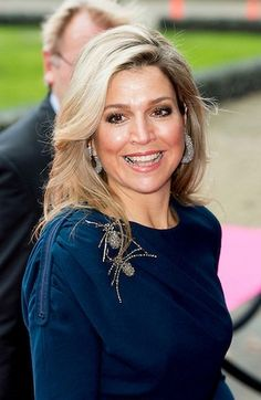 On November 27, 2015, Queen Maxima attended the closing session of Power on Tour in the Fokker Terminal in The Hague, Netherlands.