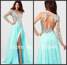 Mint Evening Gown