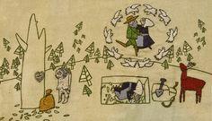 Stewart Easton - Textile Folk artist (Narrative)