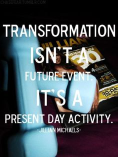 Jillian Michaels Quote