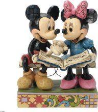 Jim Shore for Enesco Disney Traditions Mickey and Minnie 85th Anniversary Figurine, 6.5-Inch