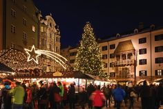 Christmas market in Innsbruck, Austria. Innsbruck, Hotel Austria, Travel Hotel, Visit Austria, Best Christmas Markets, Advent Season, Hotels, Tourism Industry, Lifestyle
