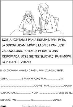 Polish Language, Comprehension, Education, Learning, Logos, Memes, Children, Speech Language Therapy, Polish