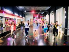 """Zumba """"Let Me Love You By Mohombi Ft Dj Rebel & Shaggy /Choreo By Chenci At BFS Studio - YouTube"""