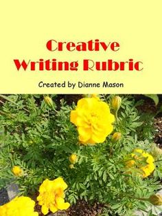 School for creative writing