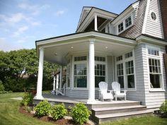Wrap around porch - love it!