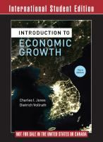 Introduction to economic growth / Charles I Jones, Dietrich Vollrath